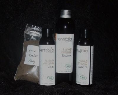 Composition huile amla